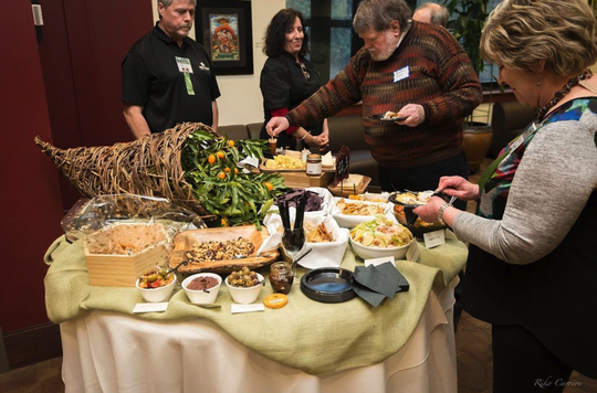 319 Wine and Cheese was one of dozens of local restaurants, caterers and farmers at Imagining Freedom 2018. This year's event, from 5:30 to 8 p.m., March 28, at the FSU Turnbull Center, 555 West Pensacola St., features dishes that are ethically sourced and not part of food chains that include trafficked labor.