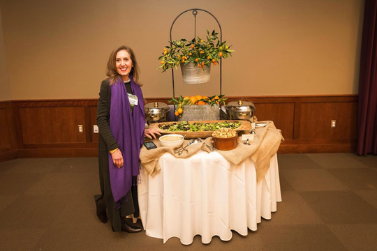 """Imagining Freedom"" food stations, coordinated by Susan Turner and Food Glorious Food, will feature dishes provided by local restaurants, farmers and caterers that are dedicated to slavery-free supply chains."