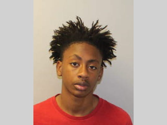 Christopher Clark, 15, is charged with two counts of armed robbery with a firearm, two counts of grand theft and one count of grand theft of a motor vehicle, all felonies.