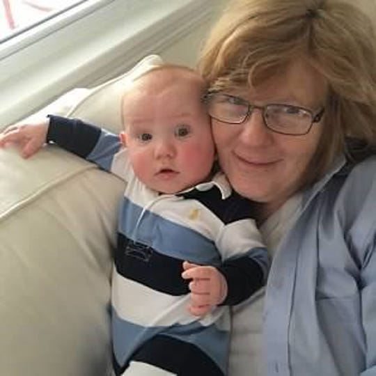 Julie Zupan with Caleb, the baby she adopted from Tallahassee resident Krista Toro in 2016.  A second effort to adopt from Toro turned out to be a scam, Zupan said. Toro has been charged with fraud.