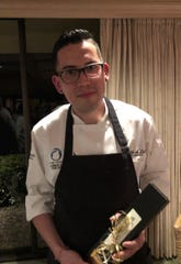 Alfredo Arce, of The Wave Kitchen & Bar at the Costa d'Este Resort and Spa, won the 11th annual Top Chef Challenge Monday night at Bent Pine Golf Club in Vero Beach.