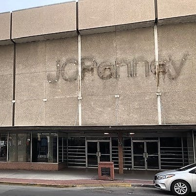 Downtown El Paso vacant J.C. Penney building's exterior to be restored to former grandeur