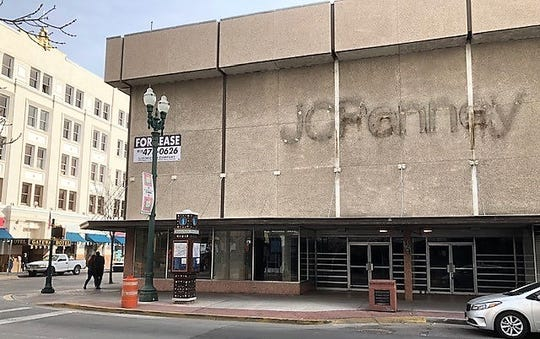 The former J.C. Penney store at 324 E. San Antonio Ave. in downtown El Paso closed in summer 2017.