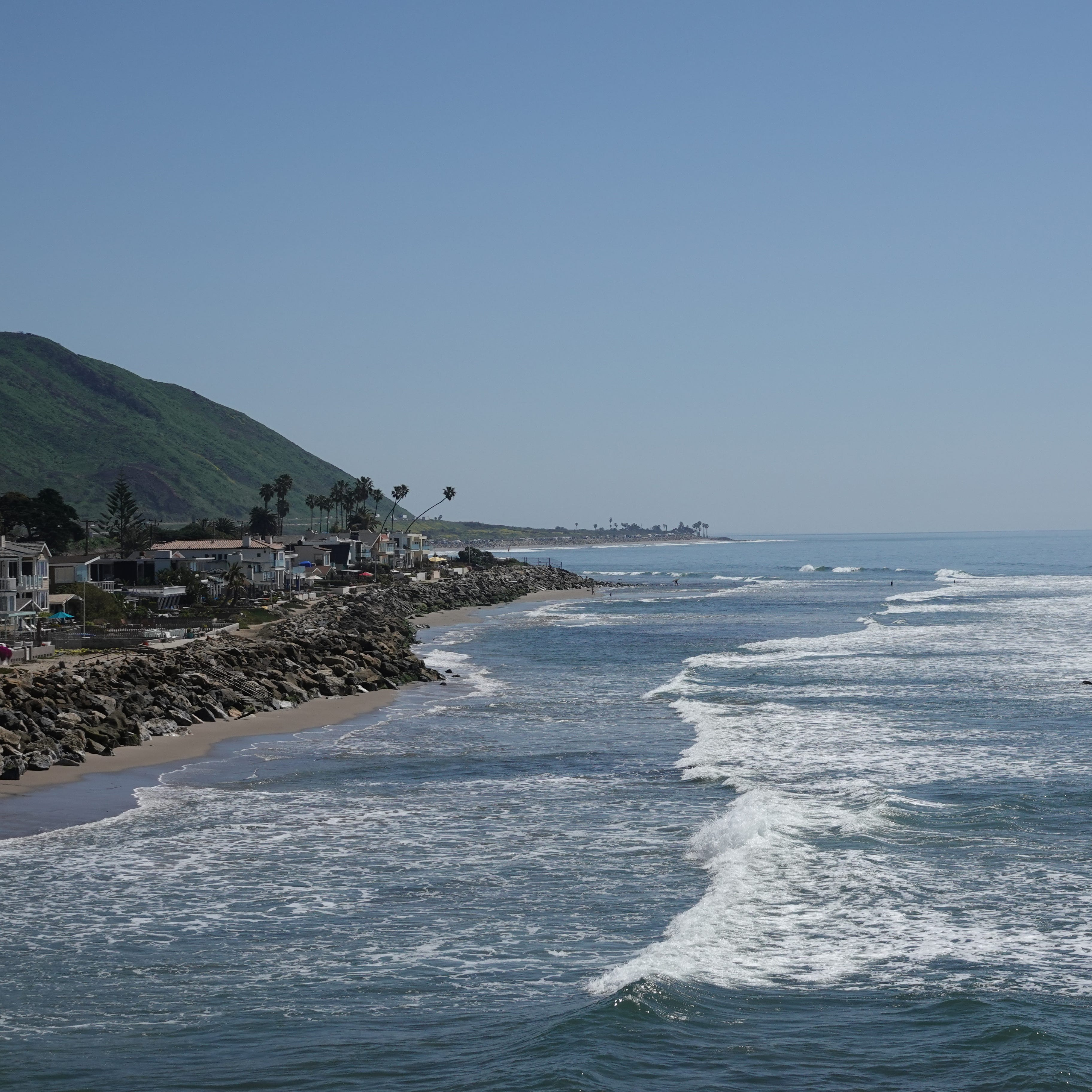 Wind danger dies down in Ventura County, but beach hazards remain