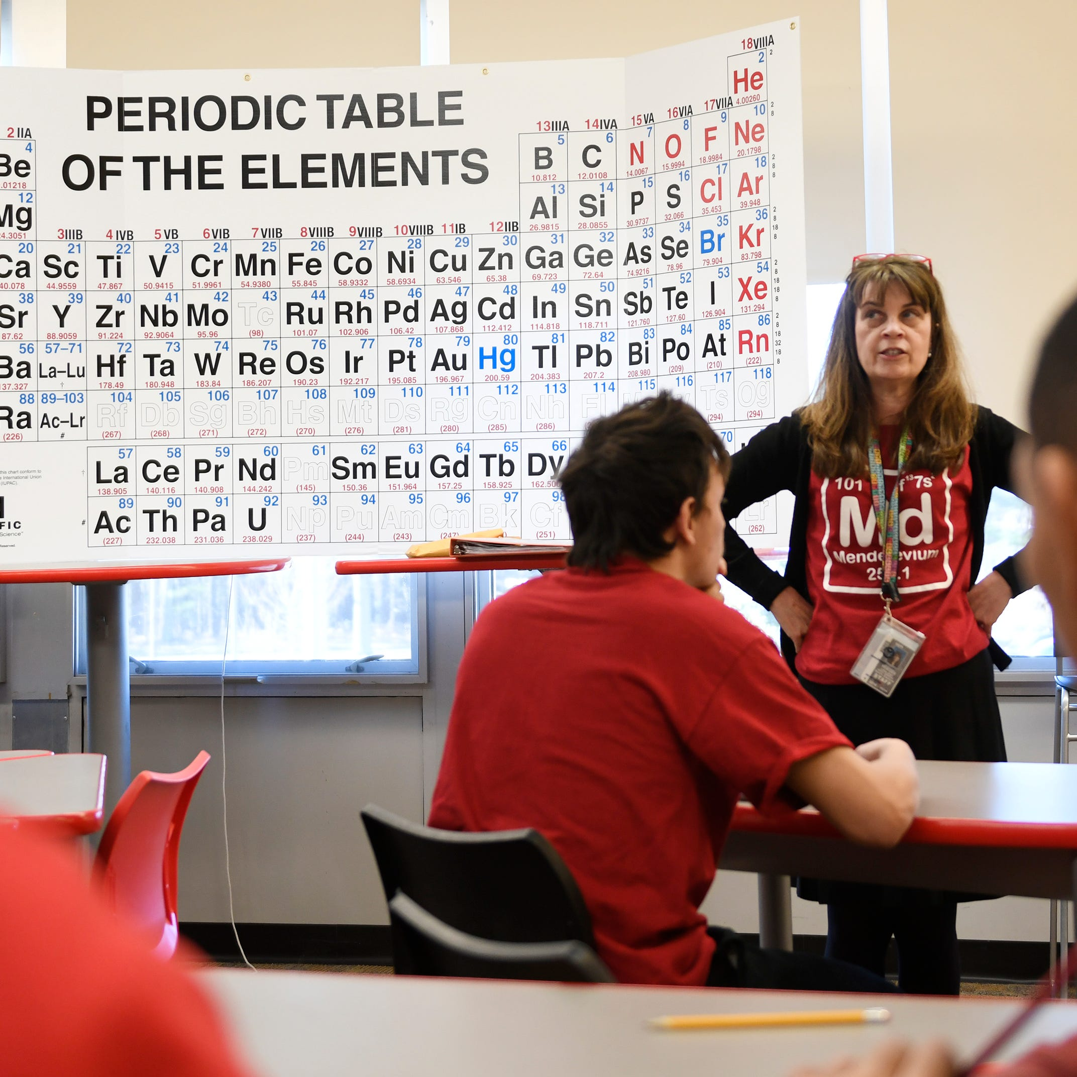 Vineland chemistry teacher hosts 150th birthday bash for periodic table