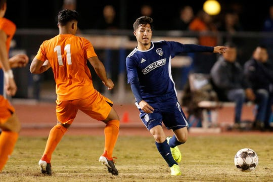 Diego Casillas, a Tulare resident, is a member of the professional soccer team Fresno FC.