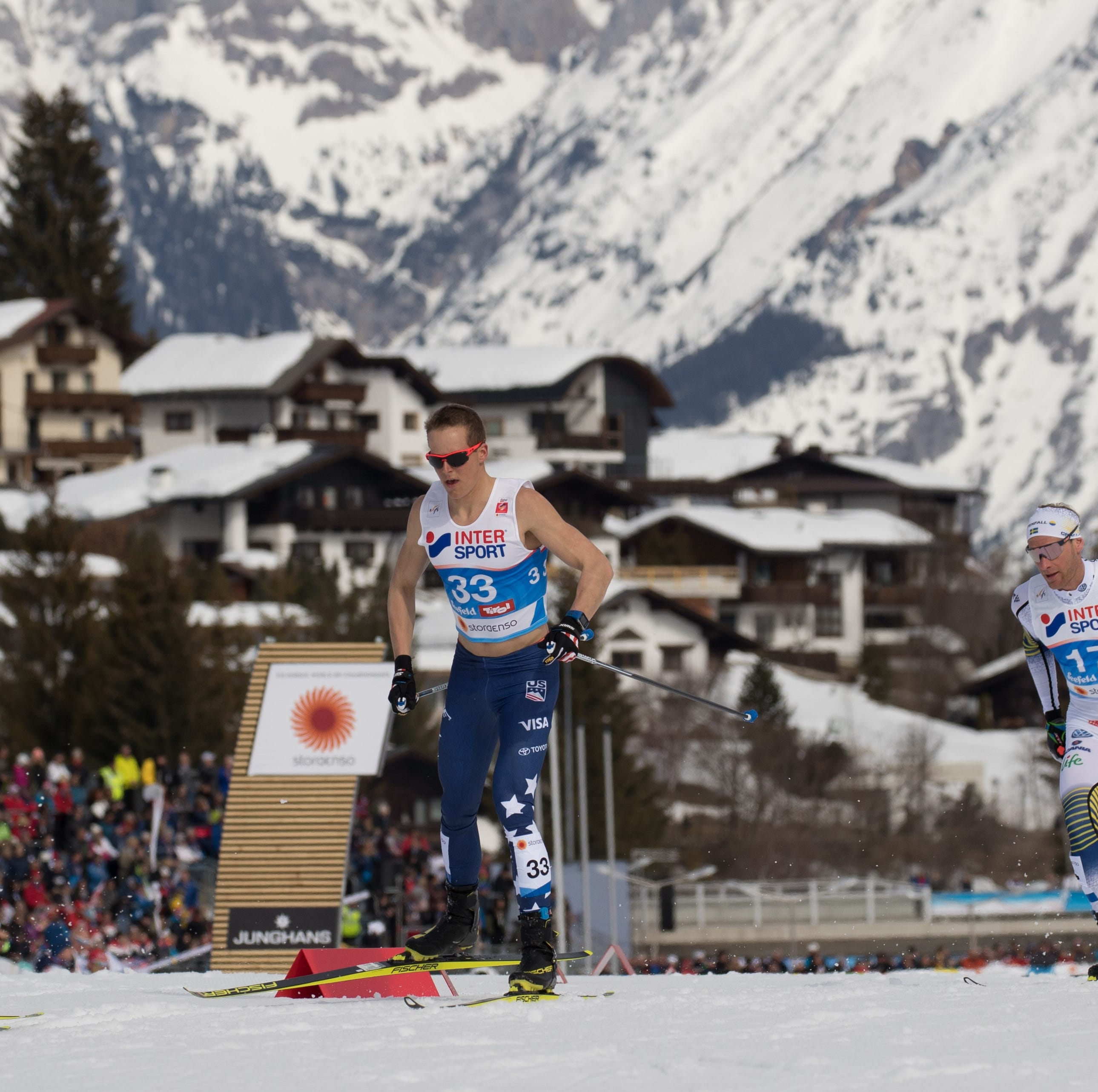 Cross-country skier Adam Martin of Wausau competed in the World Championship. What's next?