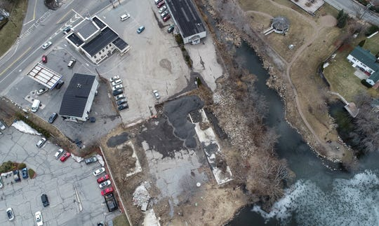 Drone images Swan Cove in Mahopac on Tuesday, March 19, 2019.