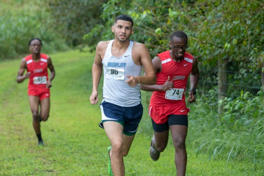 Erick Acevedo-Palencia was on the cross country team at Wesley College.