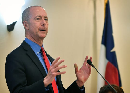 U.S. Congressman Mac Thornberry spoke about how a party can spread their message by relating more about what they are for and less about what they are opposed to during his talk at the Wichita County Republican Women's lunch Tuesday.