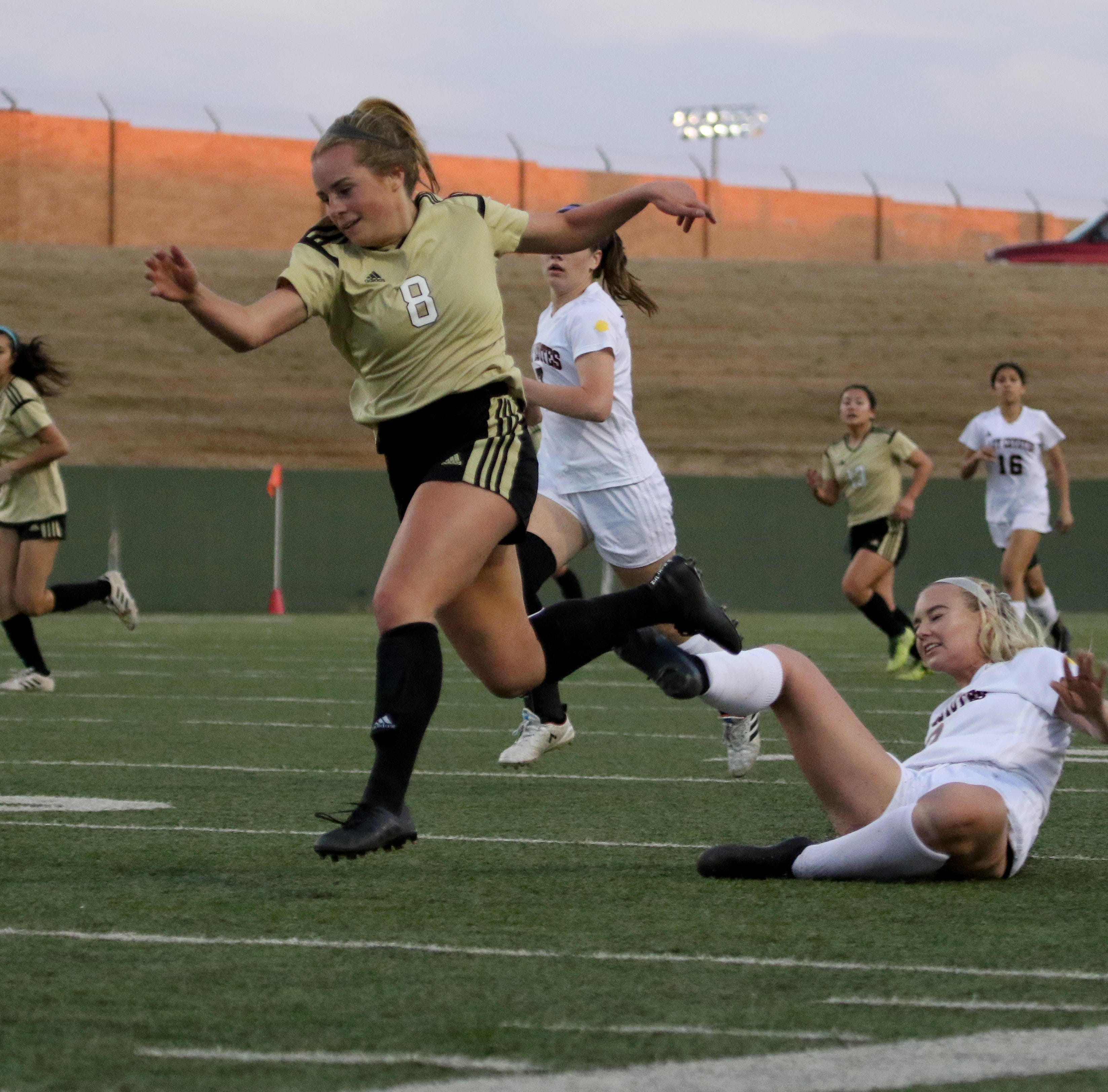 Browning making most of senior year as Rider girls claim district soccer title