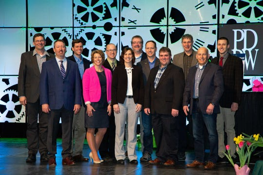 The 2019-2020 PDPW Board of Directors and advisers (from left): Ken Feltz, Jay Heeg, Dan Scheider, Katy Schultz, adviser Andrew Skwor, Janet Clark, Corey Hodorff, adviser Kurt Petik, Andy Buttles, John Haag, adviser Jim Barmore, Steve Orth. Missing from photo: adviser Paul Fricke.