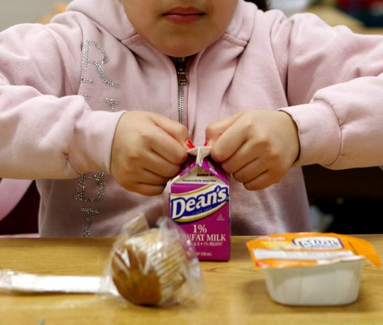 Whole milk is still not allowed in schools because the dietary guidelines need to be changed in order to get it back in the hands of school lunch programs, Tom Gallagher said.