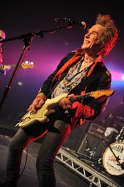 Bernie Torme from GMT, live on stage at Hard Rock Hell 2009, Prestatyn Sands, Wales, Dec. 3, 2009.