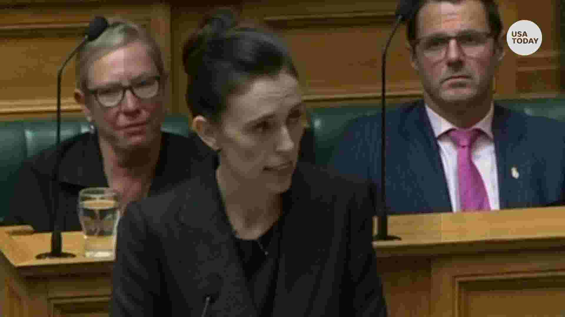 New Zealand's prime minster vows 'never' to say Christchurch suspect's name