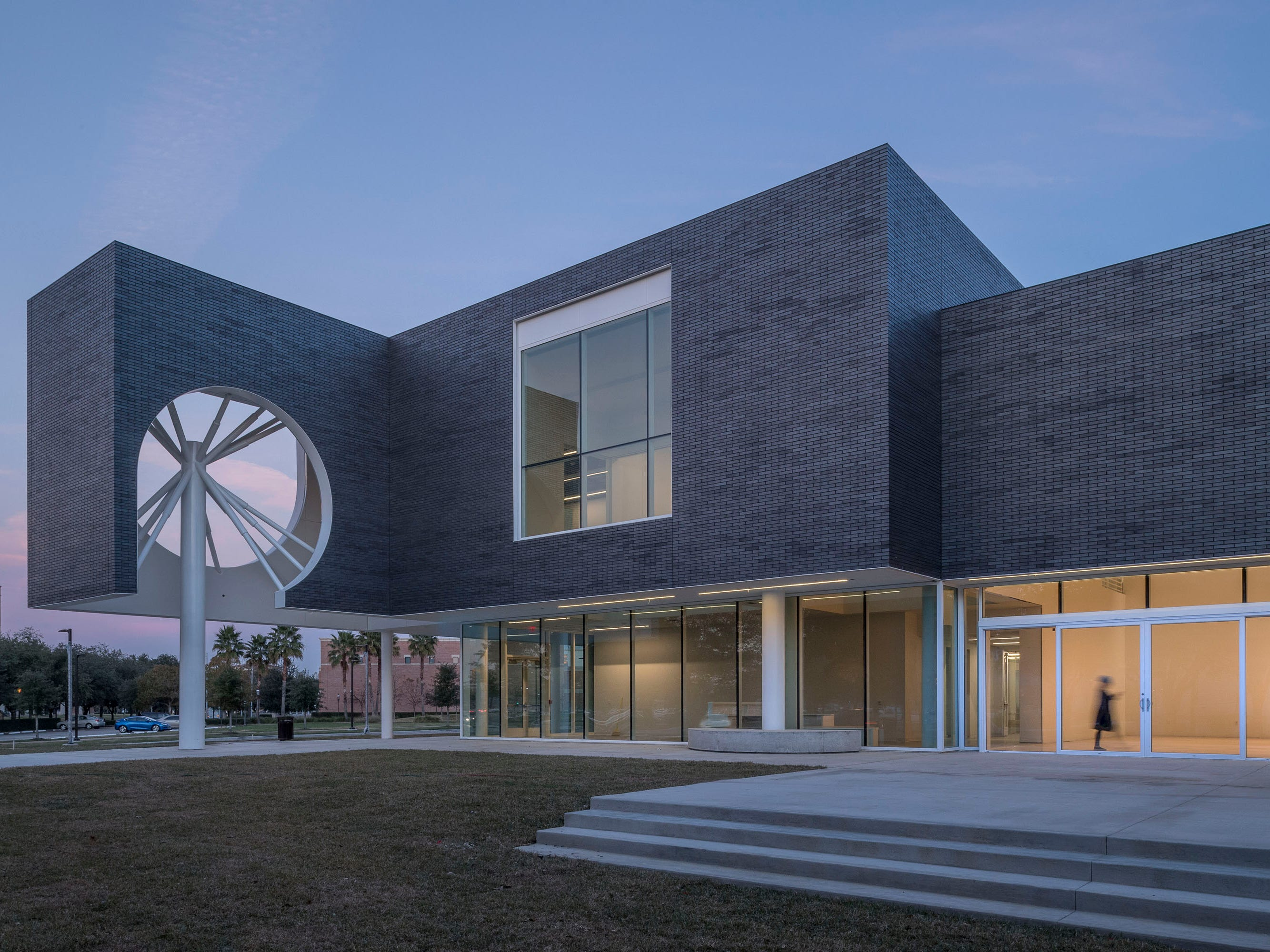 Texas: The Moody Center for the Arts at Rice University was designed by Los Angeles-based architect Michael Maltzan.