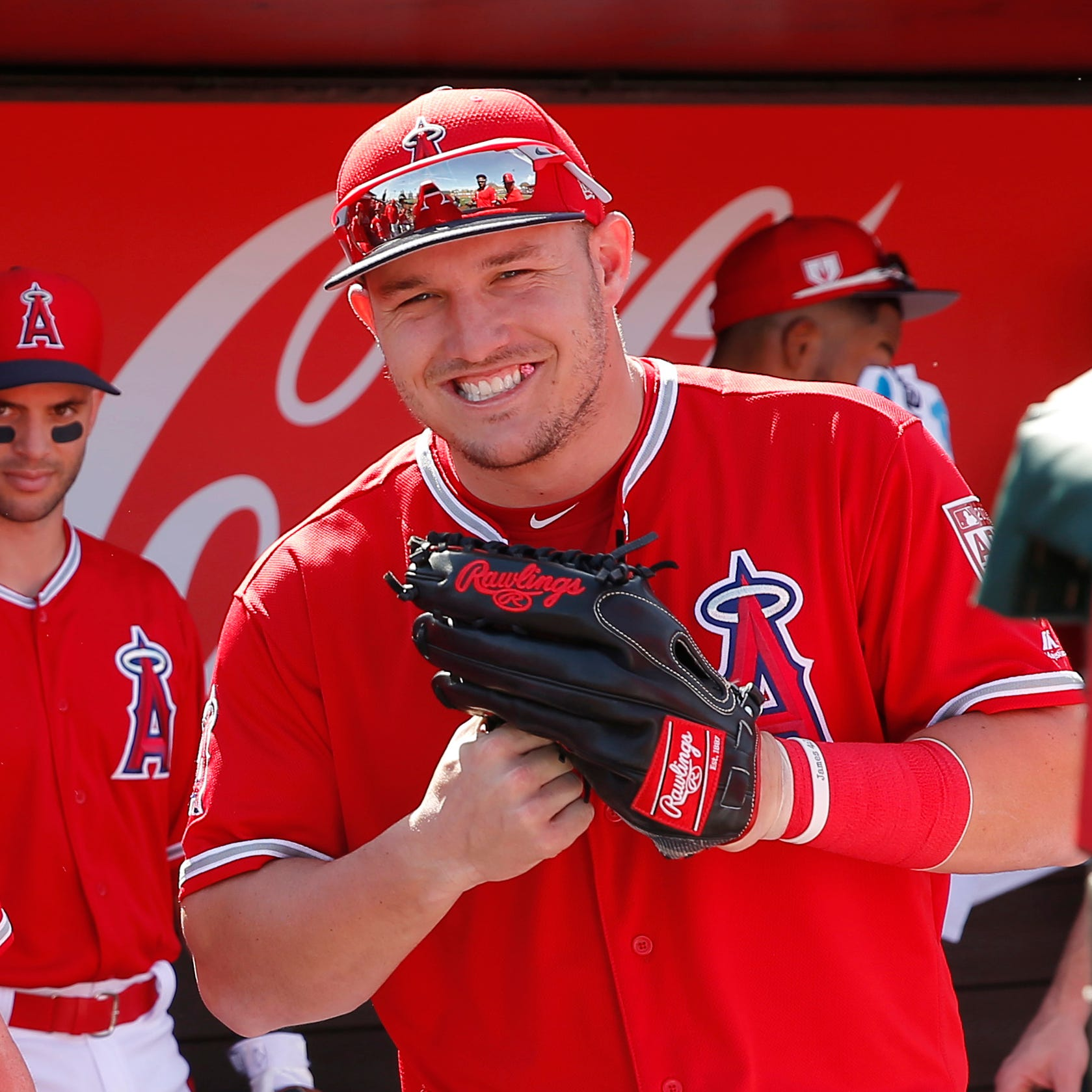 Mike Trout agrees to a record $430 million commitment over the next 12 years with the Angels