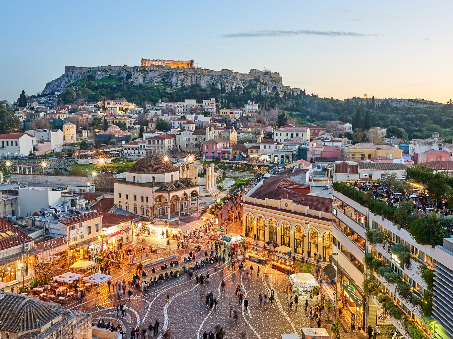 10. Athens, Greece. Total cost per day: $76.38. You can score round-trip airfare to the capital of Greece for only $510 on average, which is one of the cheapest international flights on GOBankingRates' list. Notable landmarks in Athens include the Parthenon and other ancient ruins of the Acropolis  — perfect for history junkies. Hotels will cost you an average of $36 per night, and you can expect to pay a little over $11 for a meal at an inexpensive restaurant.