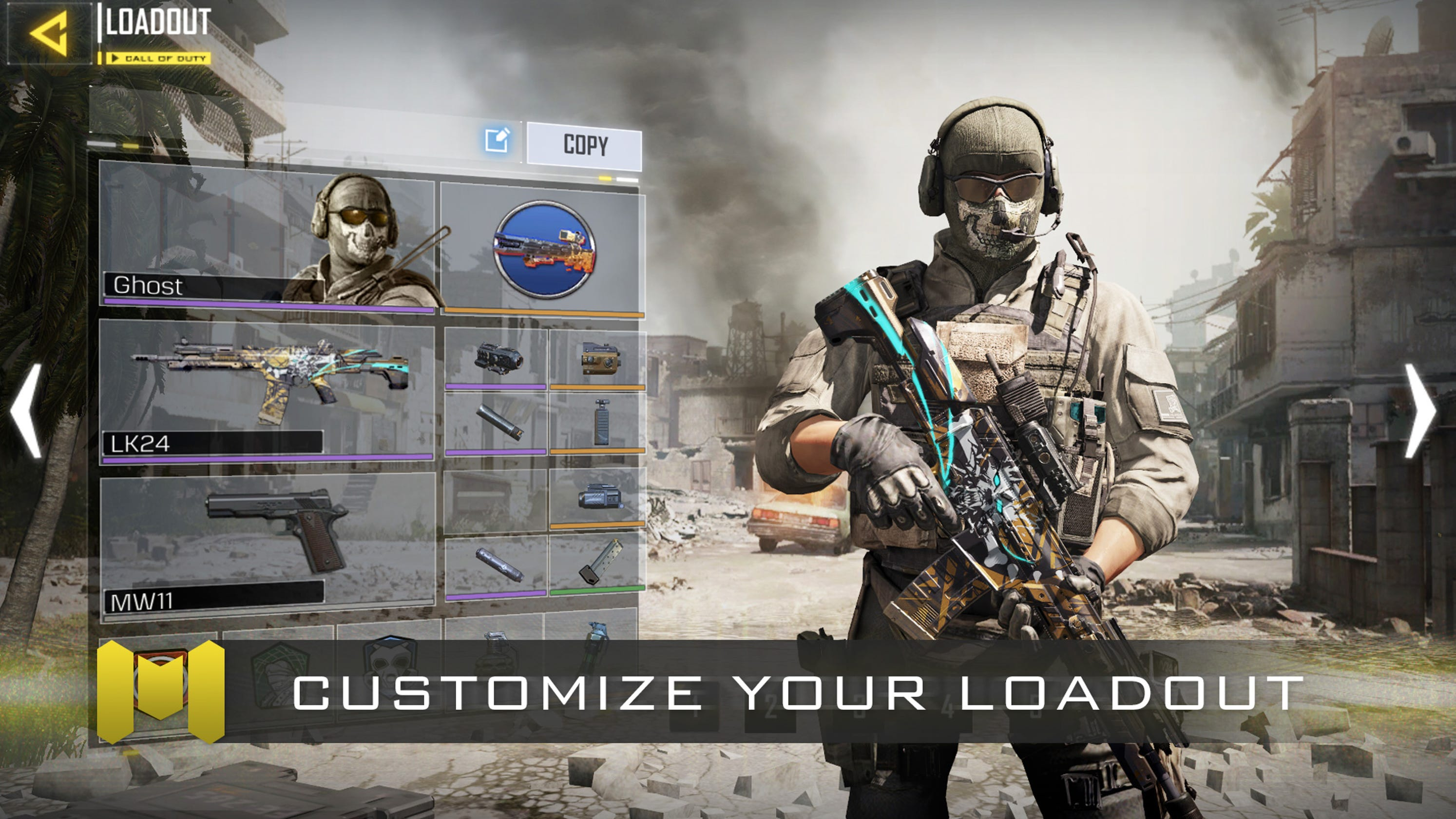CALL OF DUTY: MOBILE: Maps, Scorestreaks, Playable