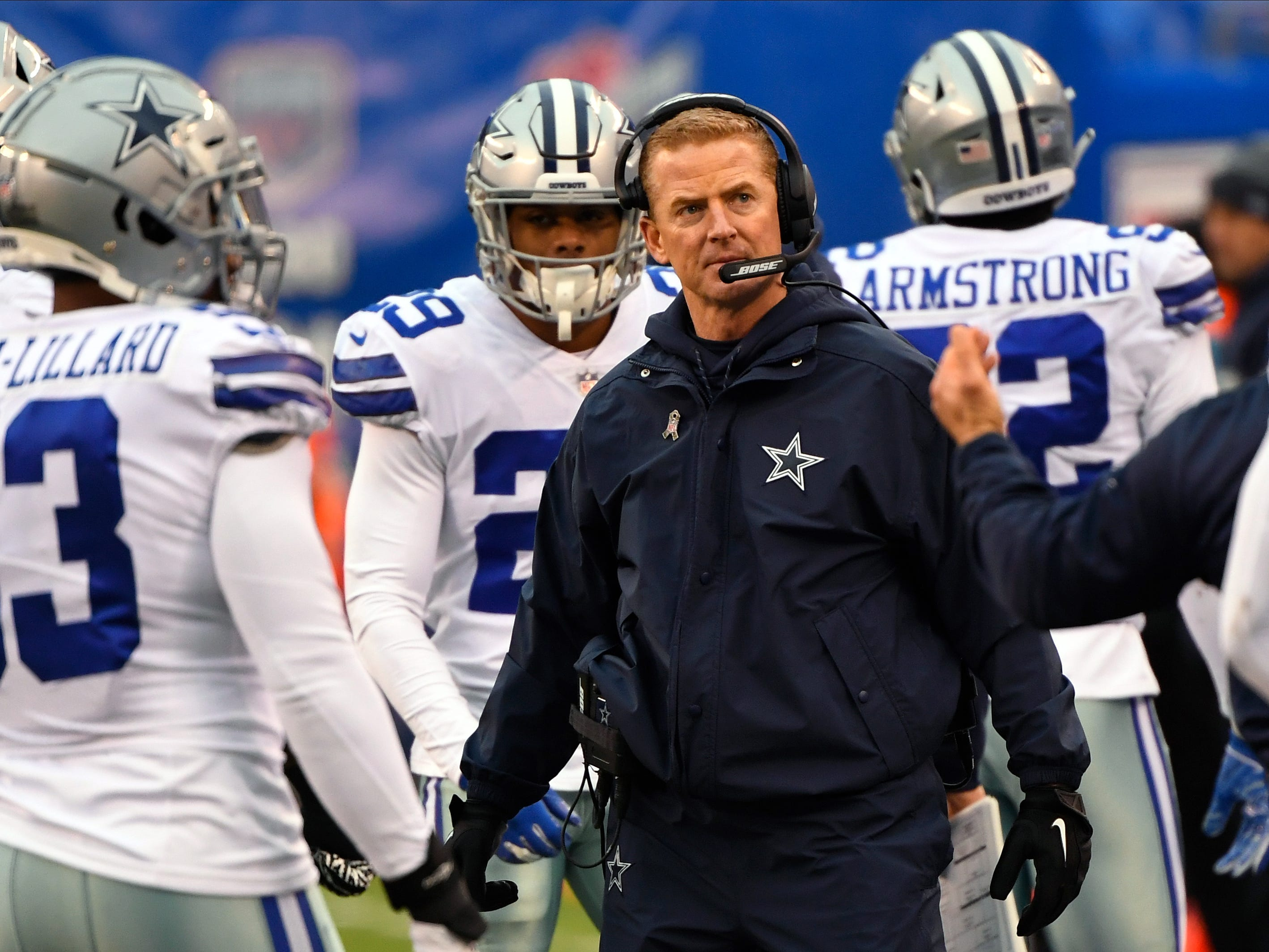 18. Cowboys (8): Several key players need new deals. Jason Garrett needs to stave off heat, but this club hasn't had successive playoff trips since 2007.