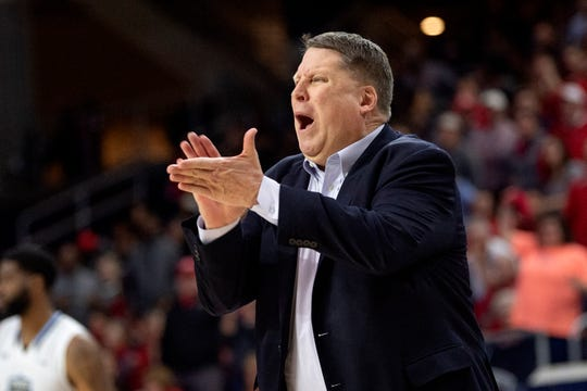 Old Dominion coach Jeff Jones has his third different team in the NCAA tournament.