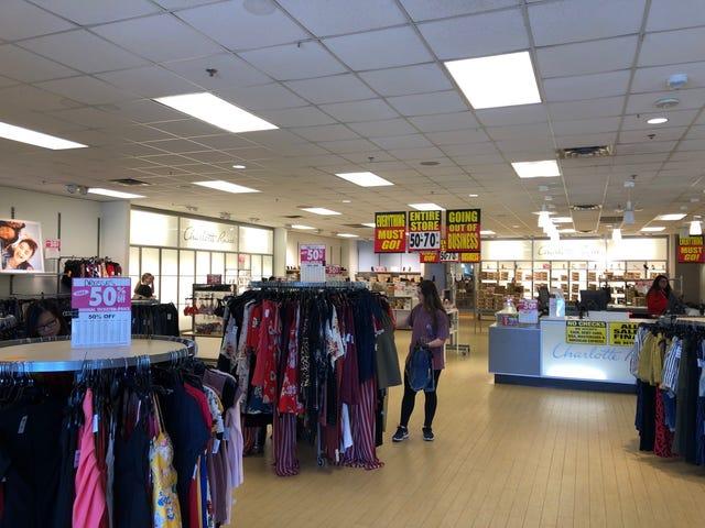 90d39e9cb9 Charlotte Russe closings: Stores enter final days of liquidation