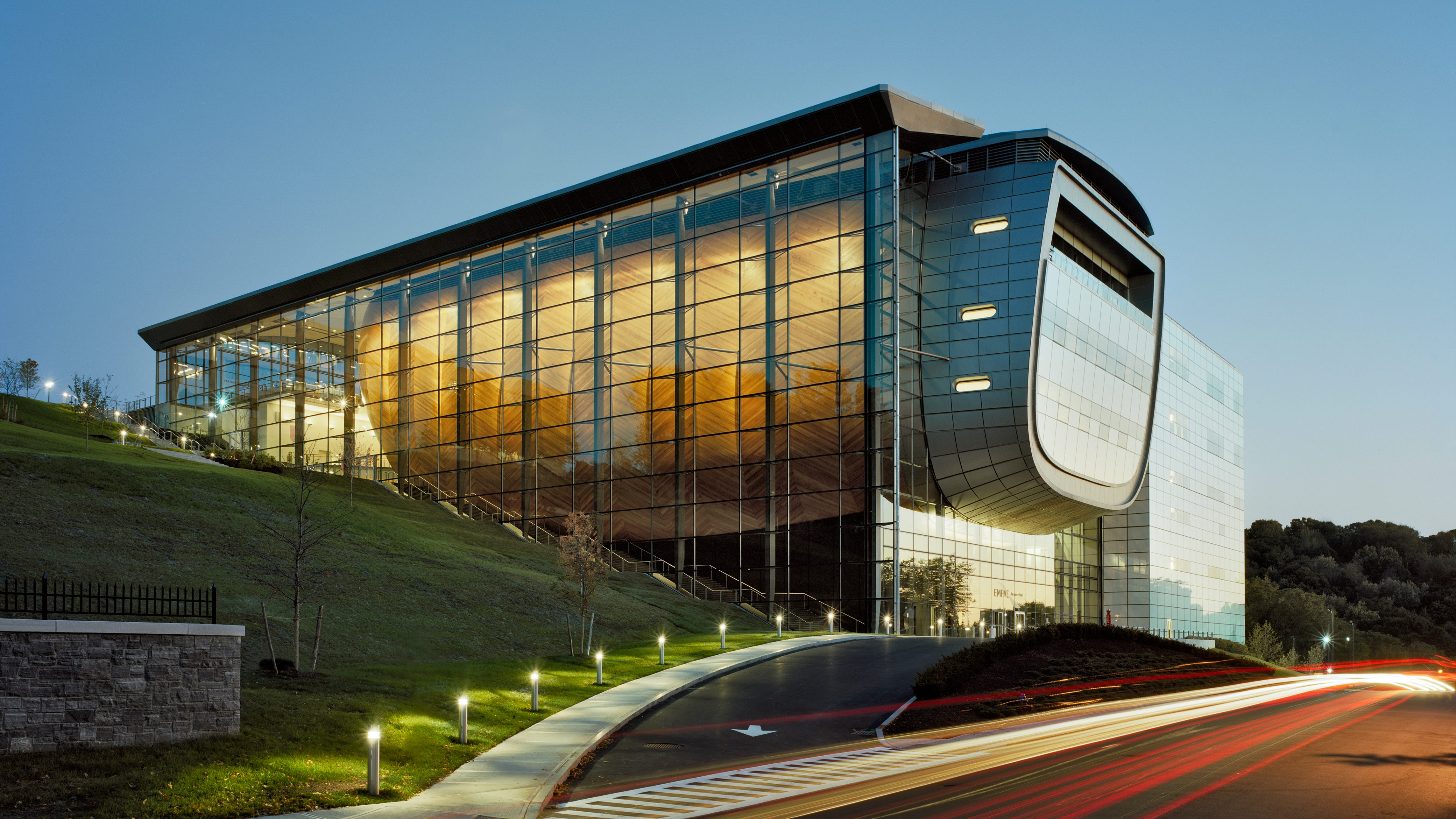 New York: At the Curtis R. Priem Experimental Media and Performing Arts Center at Rensselaer Polytechnic Institute in Troy, get your fill of the arts and sciences all in the same building.