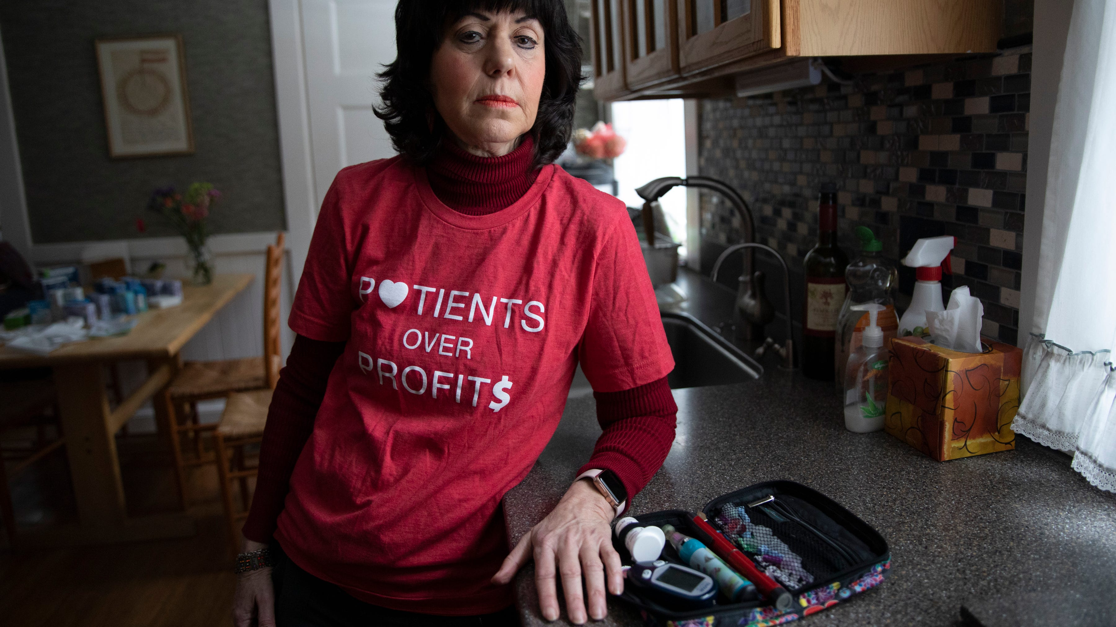 Diedre Waxman lives in Newton, Mass. and has type 1 diabetes. Diagnosed six years ago, Waxman has adopted a strict diet so she doesn't need as much insulin. Despite drastically changing her lifestyle, she still can't afford insulin so she chooses to purchase it from Canada.
