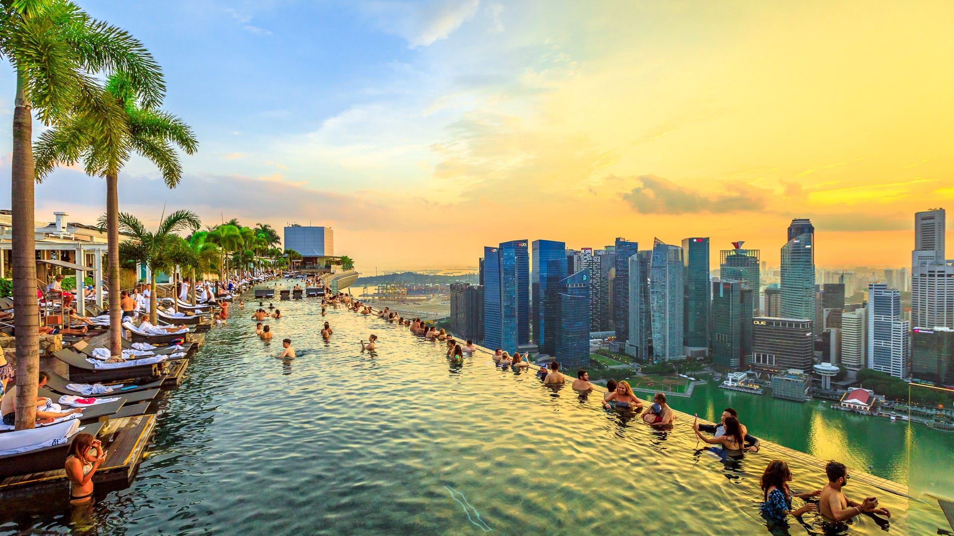 "16. Singapore. Total cost per day: $87.47. Although you'll spend an average of $47.67 per night on hotels in Singapore — the third-most expensive lodging cost on this list — it's still considered one of the cheapest countries to visit. You don't need the budget of 2018's ""Crazy Rich Asians"" to enjoy a fun tropical vacation in Singapore. However, keep in mind that round-trip flights from JFK cost $879, which is the fourth-most expensive airfare in this ranking."