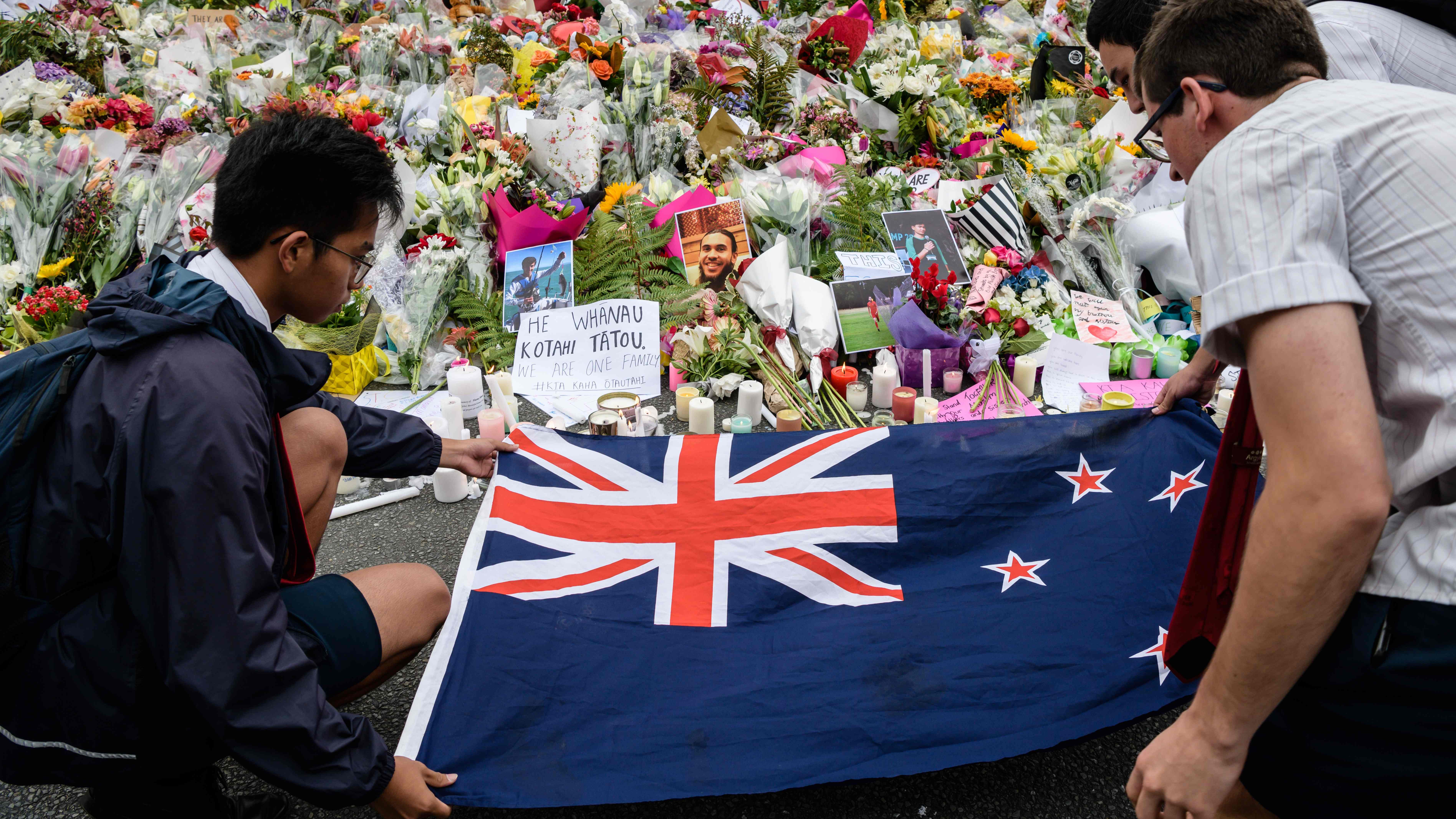 A vigil in Christchurch, New Zealand, on March 18, 2019.