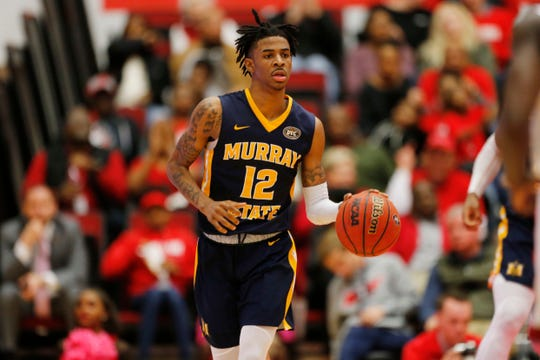 Second team: G Ja Morant, sophomore, Murray State