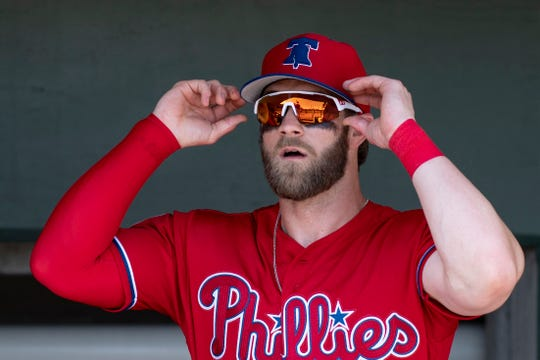 Bryce Harper signed a 13-year, $330 million deal with the Phillies.