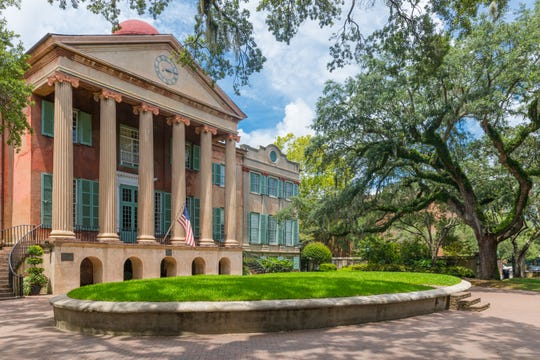 College of Charleston is already well-known for its downtown location amid centuries-old architecture.