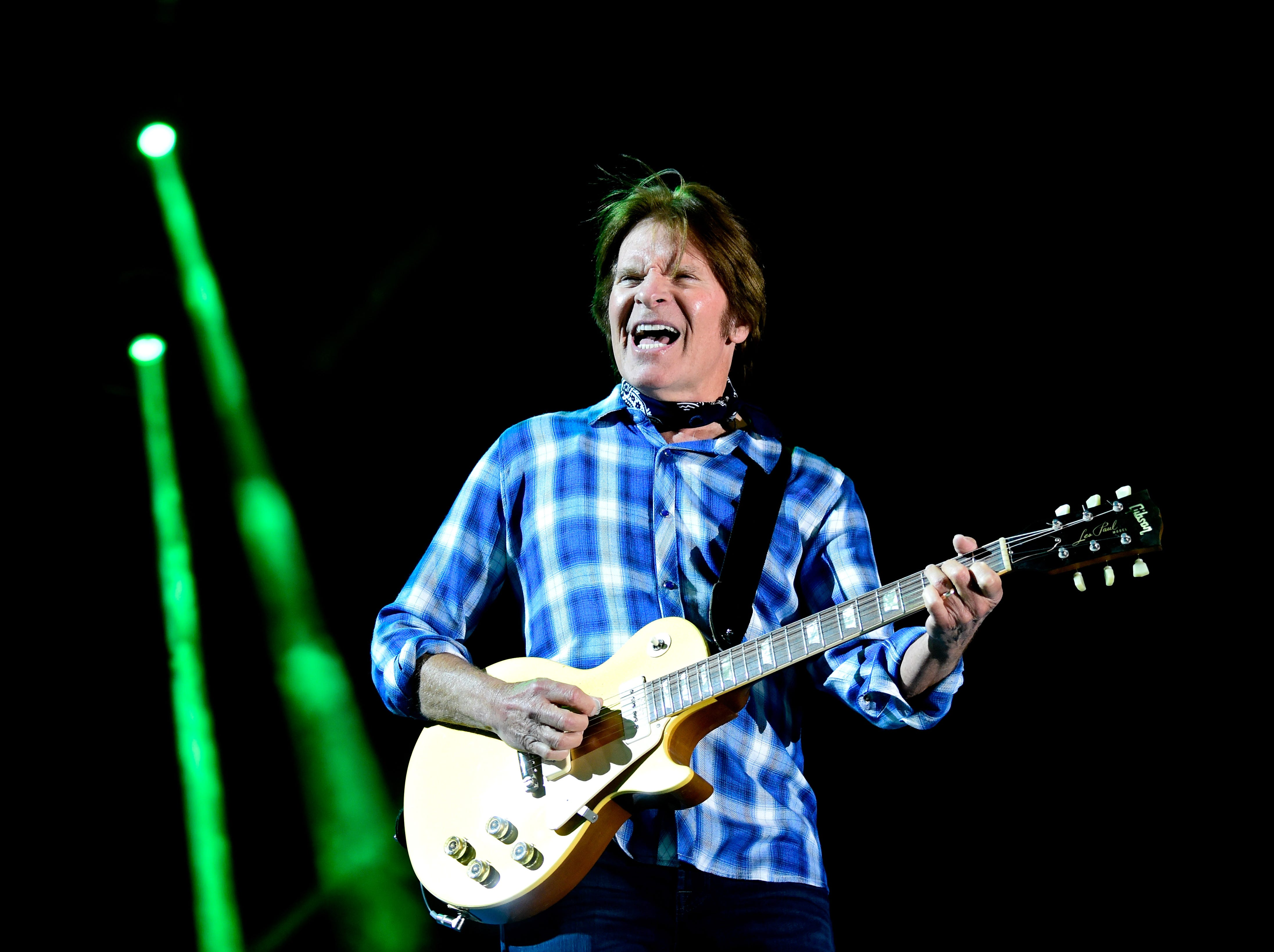 INDIO, CA - APRIL 30:  Musician John Fogerty performs during 2016 Stagecoach California's Country Music Festival at Empire Polo Club on April 30, 2016 in Indio, California.  (Photo by Frazer Harrison/Getty Images) ORG XMIT: 634015619 ORIG FILE ID: 526701868