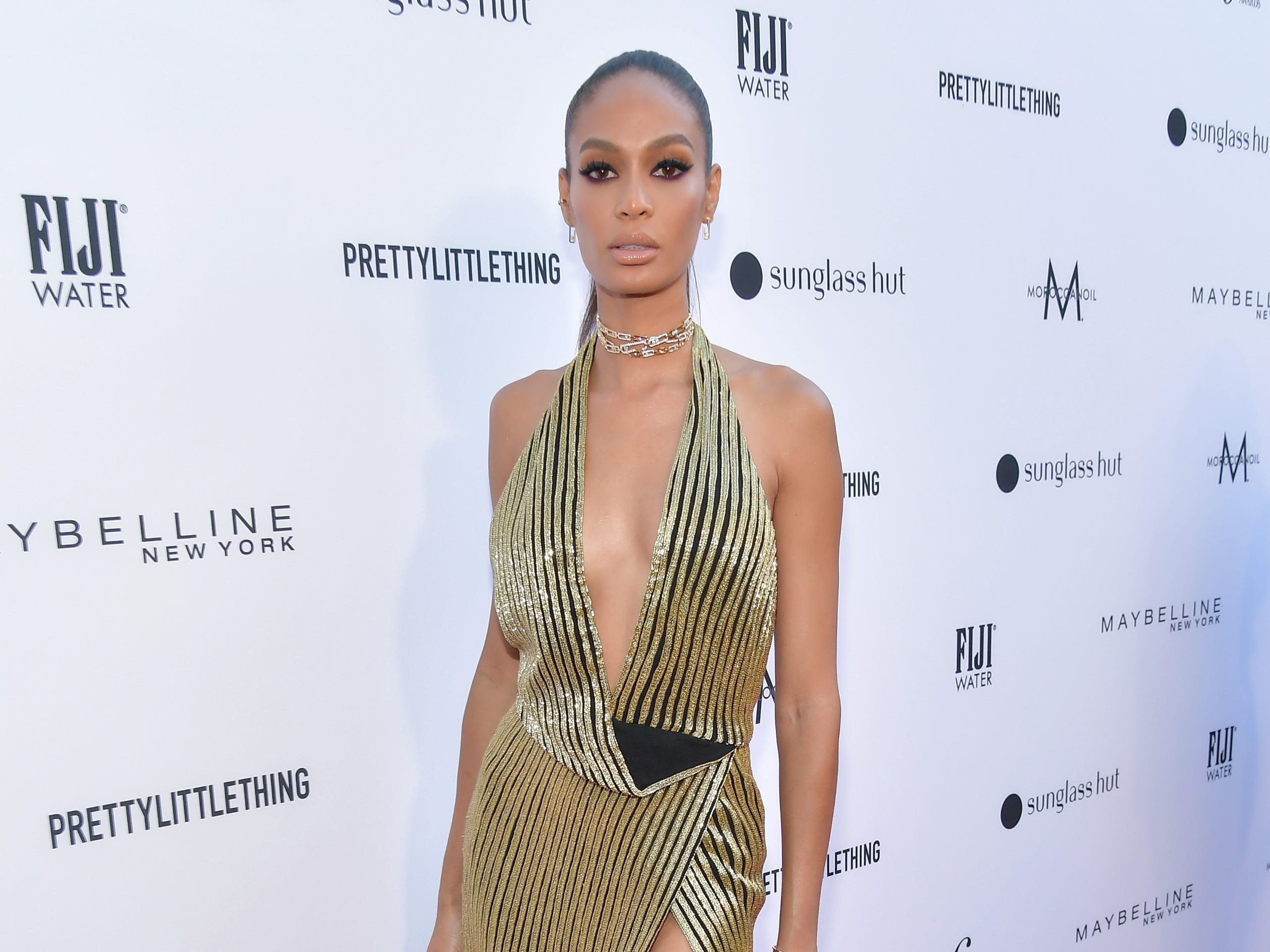 LOS ANGELES, CA - MARCH 17:  Joan Smalls attends The Daily Front Row Fashion LA Awards 2019 on March 17, 2019 in Los Angeles, California.  (Photo by Neilson Barnard/Getty Images for Daily Front Row) ORG XMIT: 775308010 ORIG FILE ID: 1131294894