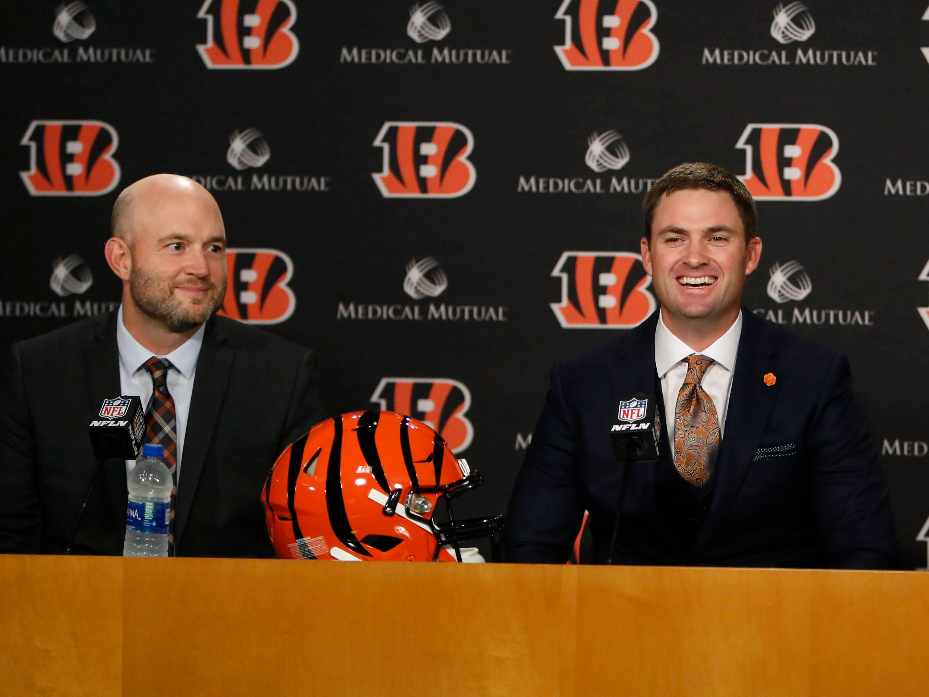 30. Bengals (28): Oh good, they hired a defensive coordinator. Oh good, they spent free agent bucks on G John Miller, CB B.W. Webb. They're not very good.