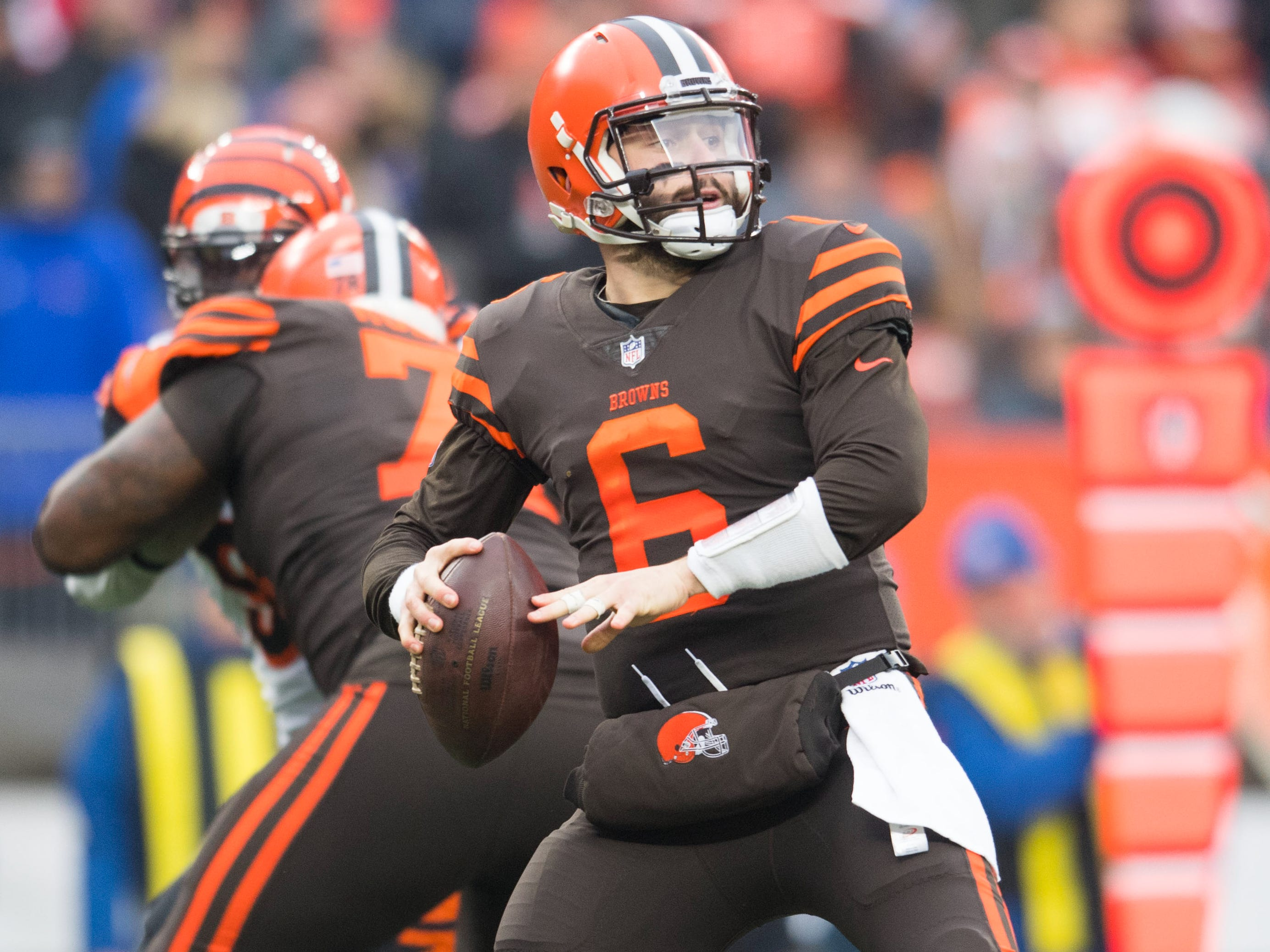 8. Browns (13): Remember, they went 5-3 post-Hue, QB Baker Mayfield thriving under Freddie Kitchens' tutelage. And we hear Cleveland has added a few guys since.