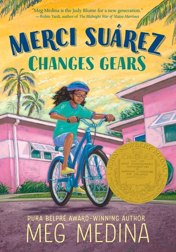 Merci Suarez has all the angst of starting  sixth grade but things get even crazier when her beloved grandpa starts acting weird.