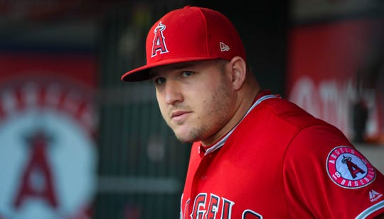 Mike Trout has spent his entire career in the Angels organization.
