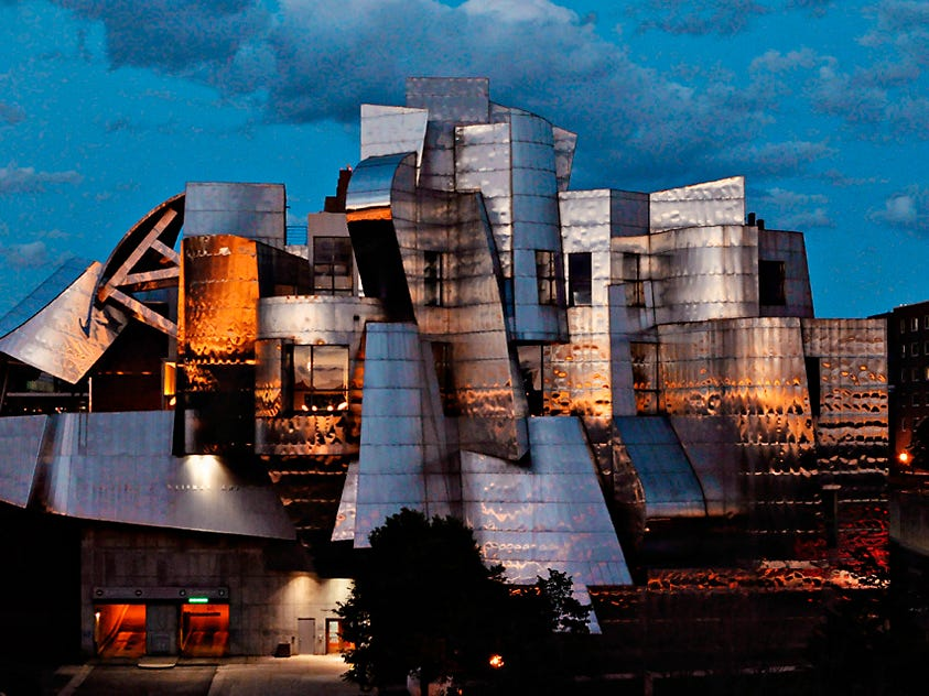 Minnesota: The Weisman Art Museum on the University of Minnesota campus in Minneapolis is known for its Frank Gehry-designed building, as well as exhibits running the gamut from modernist American paintings to photography, ceramics, design and installations.
