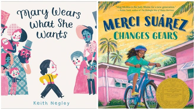 """""""Mary Wears What She Wants"""" and Merci Suarez Changes Gears"""" are two tales that reflect diversity in children's books."""