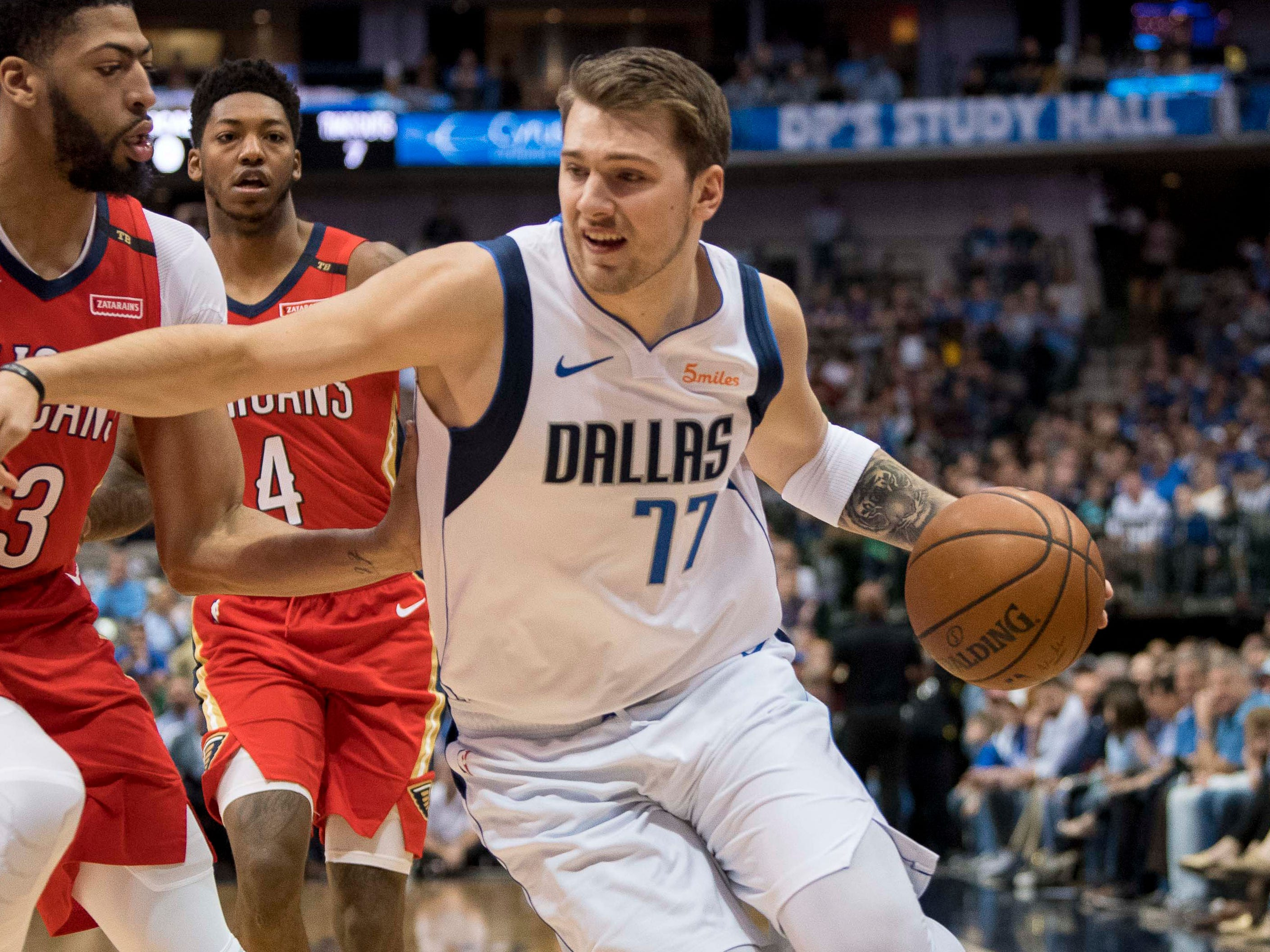 105. Luka Doncic, Mavericks (March 18): 29 points, 13 rebounds, 10 assists in 129-125 loss to Pelicans (fifth of season).