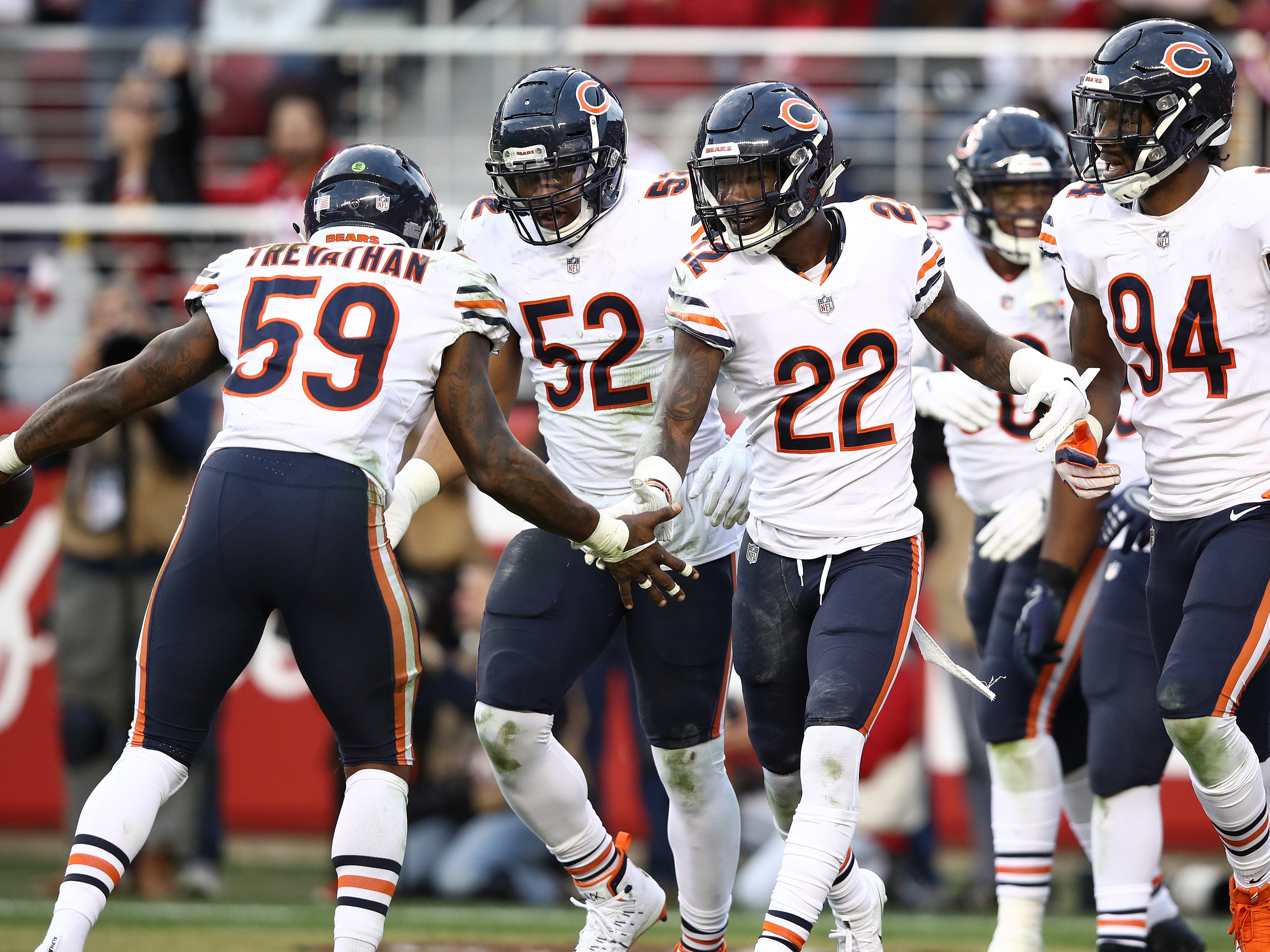 13. Bears (7): Loss of Vic Fangio could be catastrophic — not only was defense suffocating, it put a lot of points on board for club with pedestrian offense.