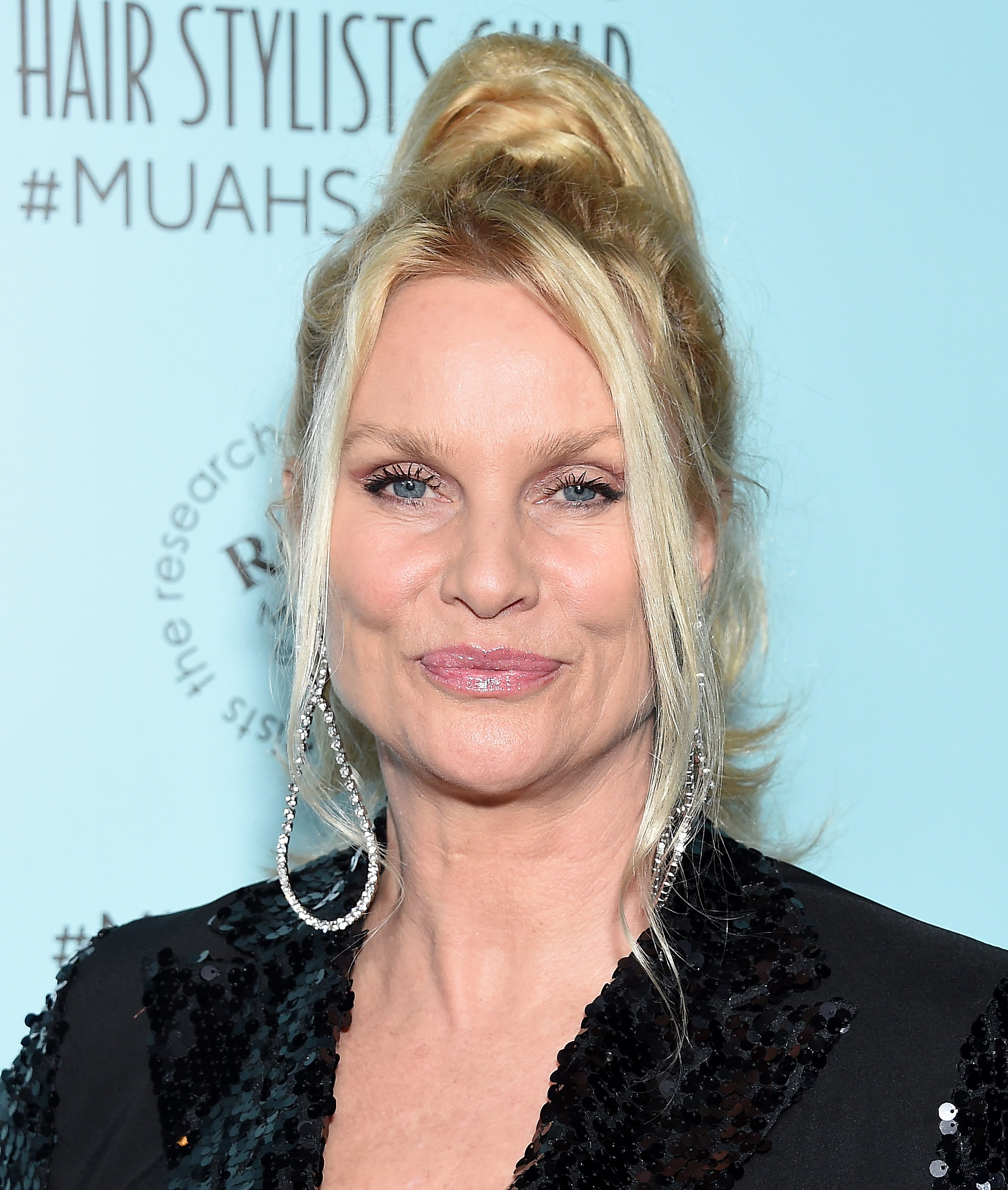 Nicollette Sheridan talks admissions scandal, avoids mentioning co-star Felicity Huffman