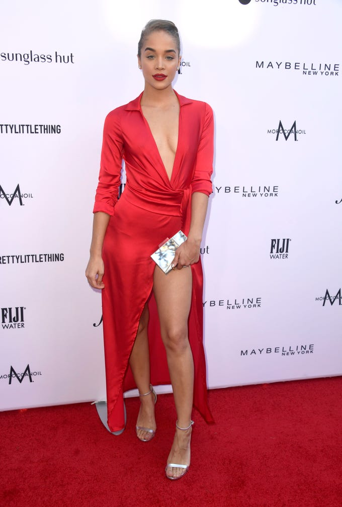 BEVERLY HILLS, CALIFORNIA - MARCH 17: Jasmine Sanders attends The Daily Front Row's 5th Annual Fashion Los Angeles Awards at Beverly Hills Hotel on March 17, 2019 in Beverly Hills, California. (Photo by Frazer Harrison/Getty Images) ORG XMIT: 775311573 ORIG FILE ID: 1136510510