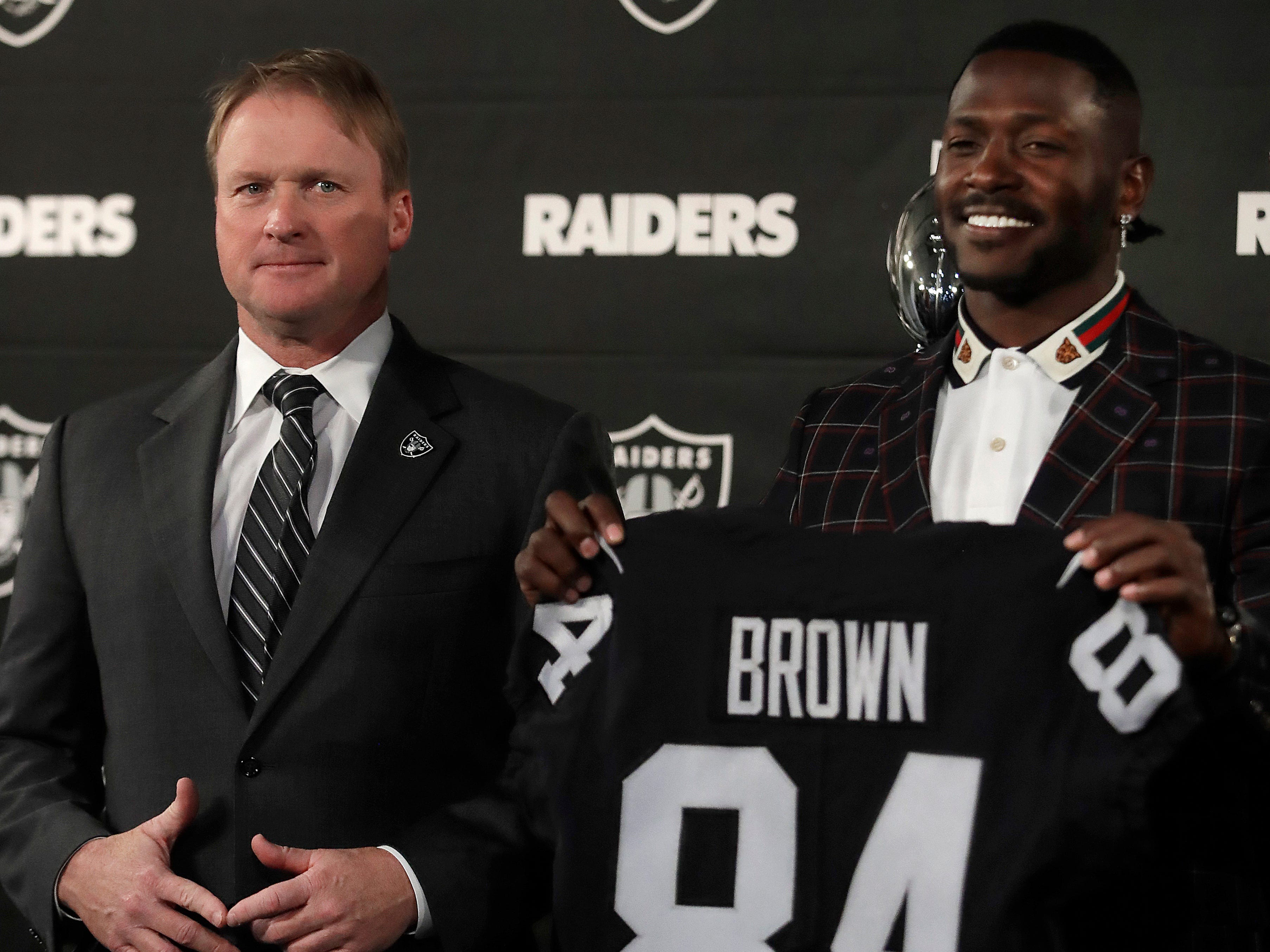 23. Raiders (24): Presumably they'll draft tailback, front seven reinforcements. But they've made some compelling moves, most notably Antonio Brown heist.