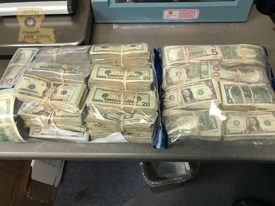 Louisiana State Police investigators seized $340,000 when search warrants were served at Mohammad Abudeyah's home and business.