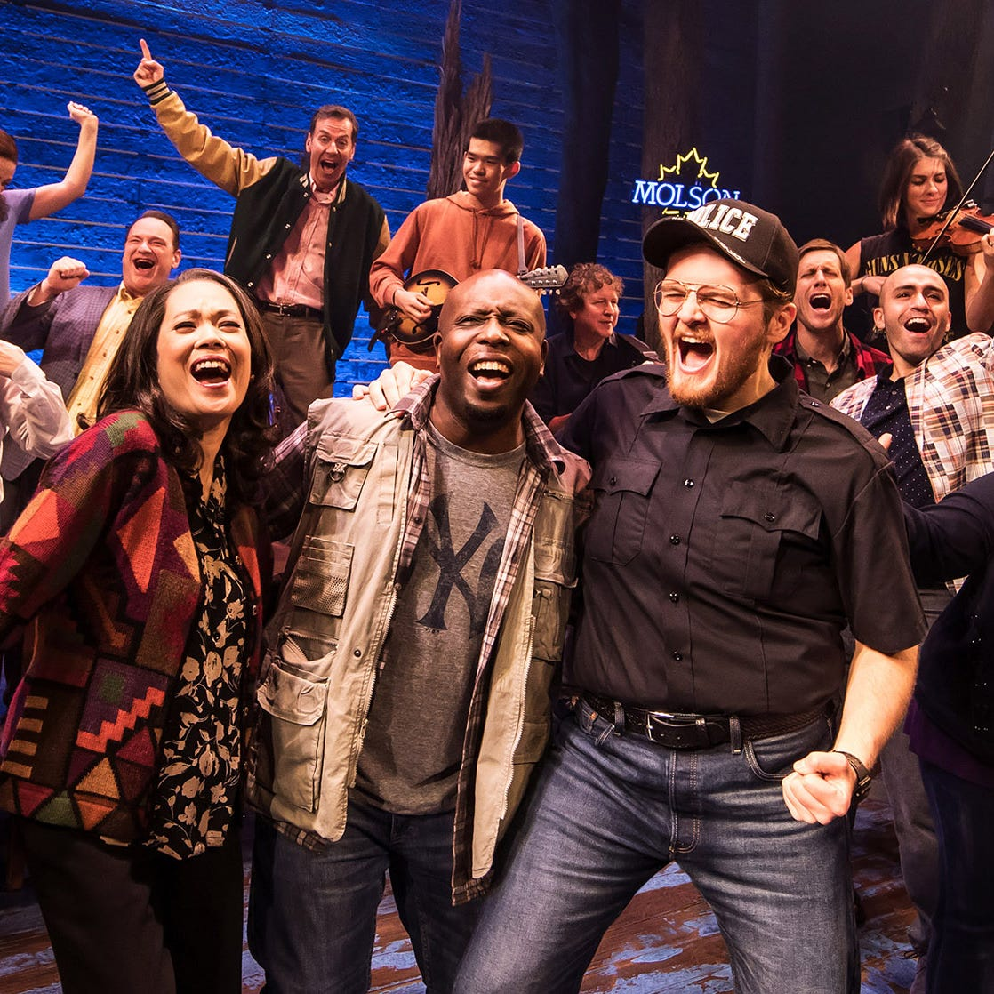'Come From Away,' a 'big bearhug of a musical,' opens Tuesday at the Fox Cities PAC