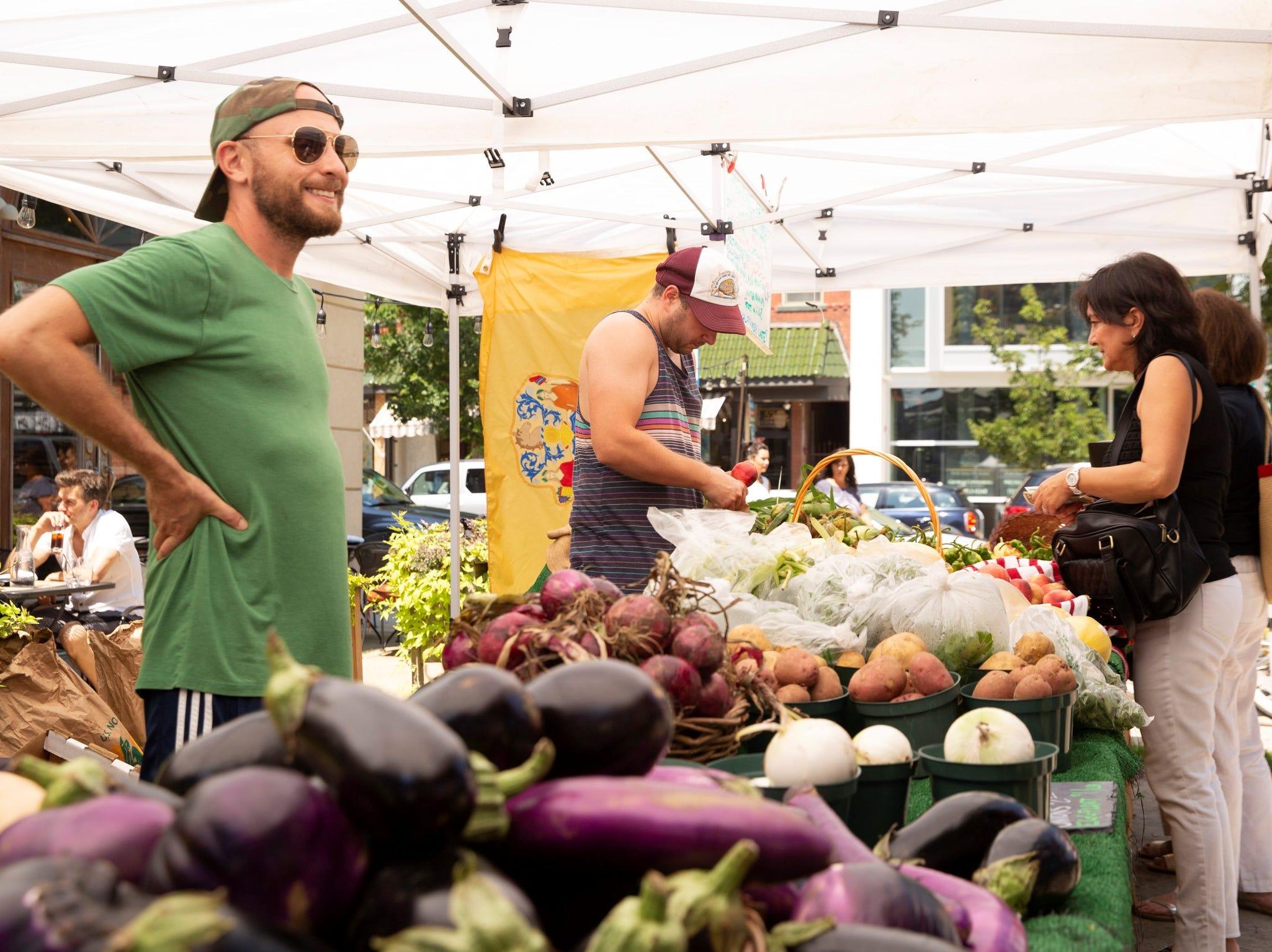 Asbury Fresh farmers' market in 2018.