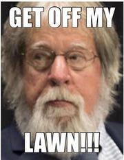 An Asbury Park Press opinion reader created a meme of Opinion Editor Randy Bergmann